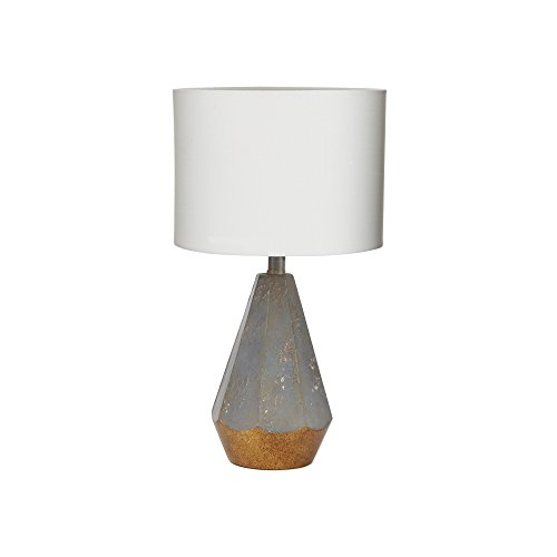 Prism Lamp - Silverwood CPLT1526 Rustic Prism Table Lamp with Gold Accent, 18.5