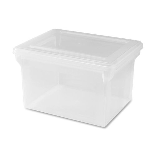 Lorell LLR68925 Letter/Legal Plastic File Box