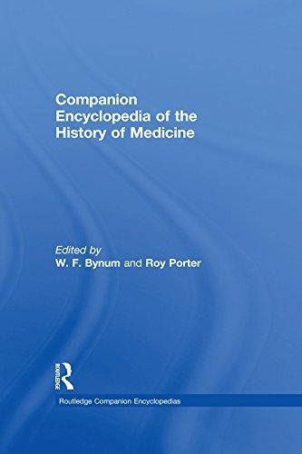 Companion Encyclopedia of the History of Medicine (Routledge Companion Encyclopedias) Pdf