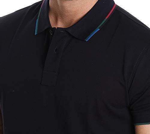 Polo Homme Smith Bleu Puxd151l724j49 Paul Coton TxU0Sw