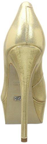 Buffalo London 176664, Zapatos de Tacón Mujer Dorado (GOLD 01)