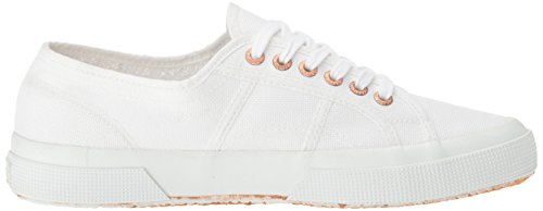 Superga Unisex 2750 Cotu Classic Sneaker Weiße Rose