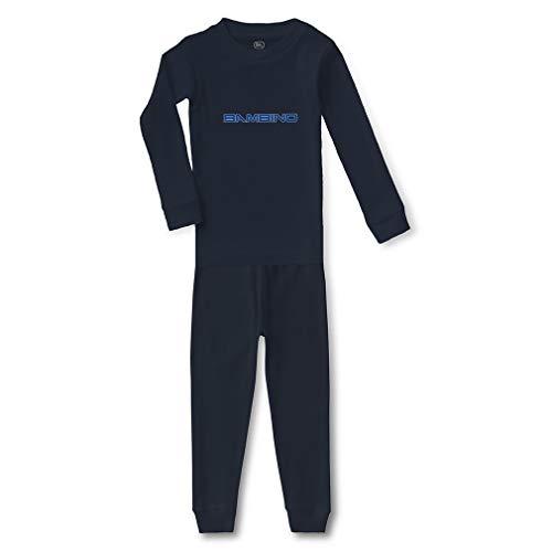 Bambino Cotton Crewneck Boys-Girls Infant Long Sleeve Sleepwear