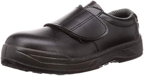 [ノサックス] 静電安全靴 JSAA認定 プロスニーカー 耐滑 静電 マジックタイプ KC-3600黒 KCシリーズ メンズ