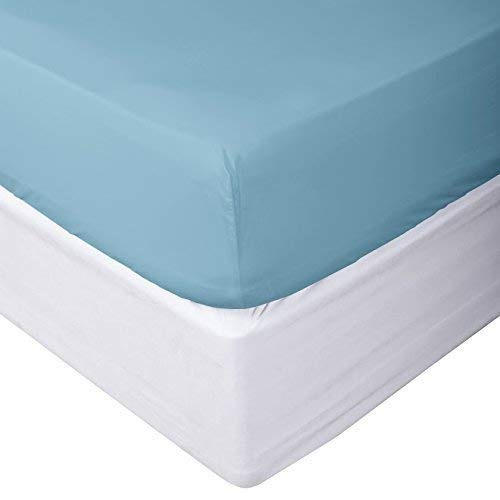 (Chenille Linen Collections 800 Thread Count 100% Egyptian Cotton Ultra Soft 1 Piece Fitted Sheet (Bottom Sheet Only) 15
