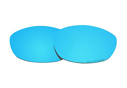 BVANQ Lenses Replacement Polarized for Oakley Fives 2.0 Sunglasses Lenses (Ice Blue Mirror - Oakley Replacement Lenses Polarized Fives