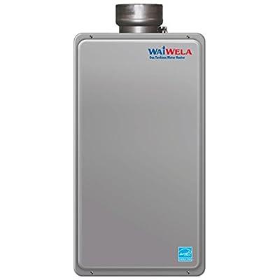 WaiWela PH2-20RDVSL N Indoor Direct Vent Condensing Natural Gas 150000 BTU Tankless Water Heater