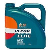 REPSOL(レプソル) ELITE NEO 15W50 4L 部分合成エンジンオイル [正規品] 007075 B01F8BBNYW