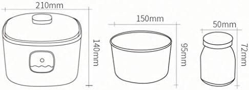 SCJ Doublure en Verre de Machine à yogourt Intelligente et Tasses de 5x100 ML Petite Machine à vin de Riz Natto Domestique