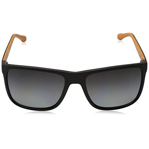 b2ee51c0cb07 D G Dolce   Gabbana Men s Over-Molded Rubber Polarized Square Sunglasses  free shipping