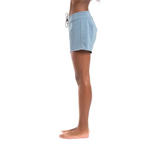 Birdwell Women's Stretch Board Shorts - Long Length (Light Blue, 10) by Birdwell Beach Britches (Image #3)