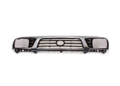 Toyota Tacoma Pick Up Truck 95-97 Front Grille Car Chrome / Black 4Wd New 1996 Toyota Tacoma Grille