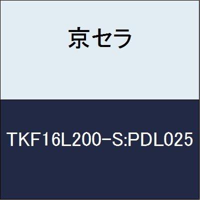京セラ 切削工具 チップ TKF16L200-S:PDL025 B079Y44MMB