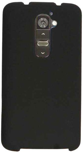 Honey Black Leather Finish (Cell Armor Snap-On Case for LG G2 - Retail Packaging - Honey Black, Leather)