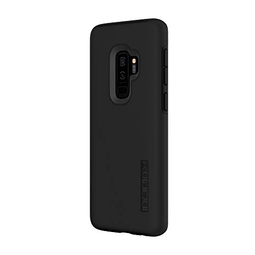 Incipio DualPro Samsung Galaxy S9+ Case with Shock-Absorbing Inner Core & Protective Outer Shell for Samsung Galaxy S9 Plus (2018) - Black
