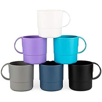 Amazon.com: Plástico Microondas Taza de agua japonés 12oz ...