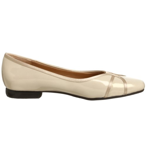 Dravers Vrouwen Delores Platte Taupe Patent