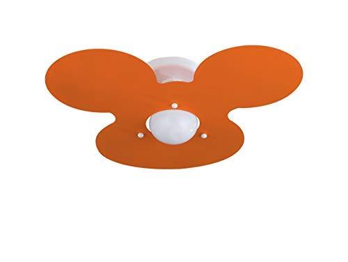 Plafoniere Per Stanzette : Plafoniera arancio per cameretta bambini stanzetta amazon