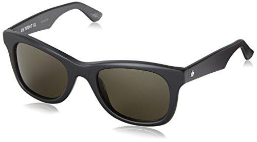 (Electric Visual Detroit XL Matte Black/OHM Grey Sunglasses )