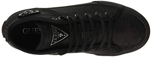 Para Zapatillas Guess Joel Altas black Mujer Black Negro tptOqr5
