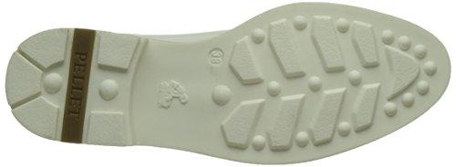 Pellet Damen Vanessa E17 Brogue Blanc (Vernis Blanc)