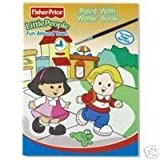 Little People Fisher-Price Paint with Water Book - Fun Around Town