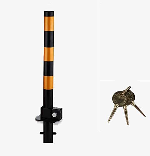 S1 base negra Perno plegable de metal para aparcamiento de entrada Rocwing