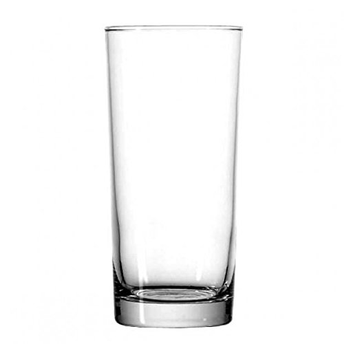 Hi Ball Glass Set - Anchor Hocking Heavy Base Highball Drinking Glasses, 15 oz (Set of 12)