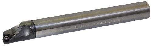 Kyocera E20S-SWUPR16-22A-2/3 Carbide Boring Bar 0.8661in Minimum Bore Diameter 6.4961in OAL E(C)-SWUB(P)-A Toolholder Style Right Hand Screw Holding 3 Degrees Lead Angle by Kyocera