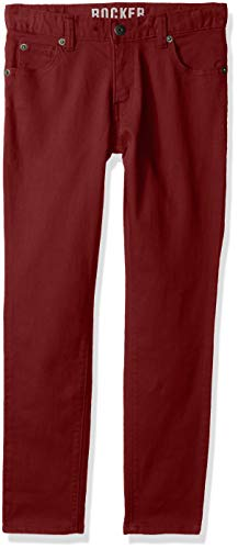 - Crazy 8 Boys' Toddler Rocker Twill Pant, Iron/Wine, 5T