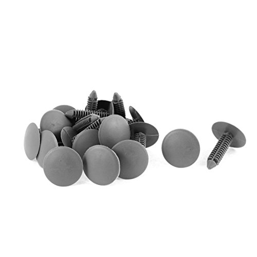 Buckle Panel (uxcell 20 Pcs Gray Plastic Rivet Buckle Ceiling Lining Trim Panel Clips)