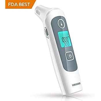 Baby Ear and Forehead Thermometer, Digital Infrared Instant Medical Thermometer Professional for Infants, Toddler, Adults and Objects - CE and FDA ...