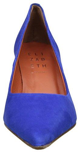 STUART ELIZABETH Escarpins Cobalt Femme Fermé Bleu Bout Kent BOqOSd