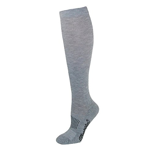 Wrangler Men's Dry Wick Western Boot Sock (Pack of 3), Grey