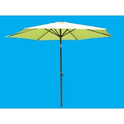 International Caravan YF-1104-2.5M/LG-IC Furniture Piece Outdoor 8 Foot Aluminum Umbrella