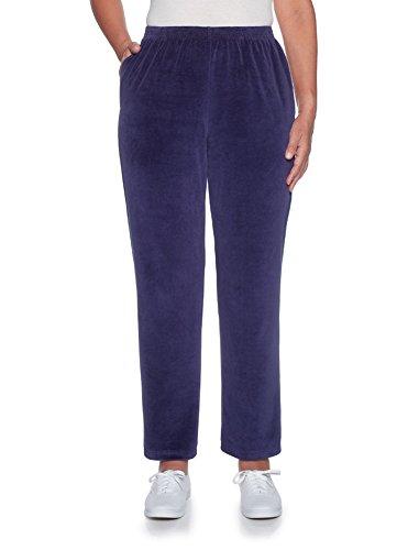 Stretch Velour Pants - 2