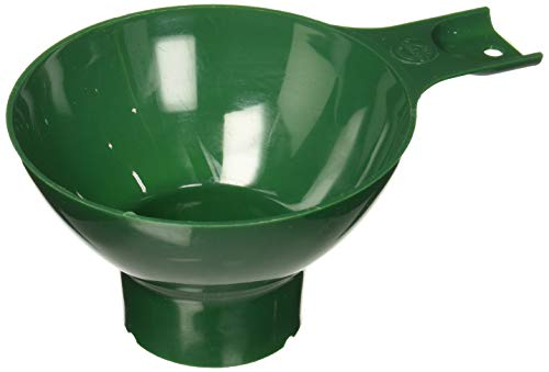 Norpro Canning Wide Mouth Plastic Funnel, Green, 4.75in/12cm,