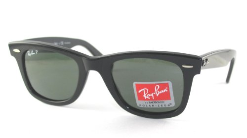Ray-Ban WAYFARER - TORTOISE Frame CRYSTAL BROWN POLARIZED Lenses 50mm - Polarized Bans All Ray Are