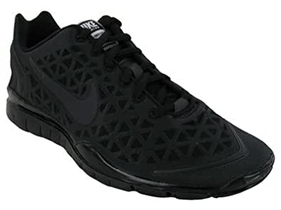 Nike Women's Free TR Fit 2 - 487789-001 (11, Black/Metallic Silver-Anthracite)
