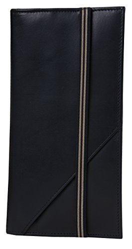 RFID Blocking Leather Passport Holder & Travel Wallet, Travel Document ()