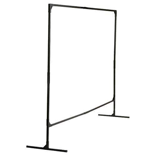 Kimberly-Clark Professional 4.125 ft H X 22 ft W 1 in Black Powder-Coated Steel WILSON STUR-D-SCREEN Welding Screen Frame