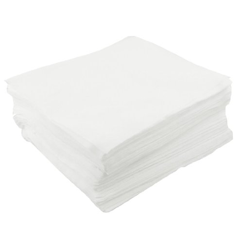 uxcell LCD PCB Clean Room Wiper Wiping Cloth 9-inch x 9-inch 150 Pcs White