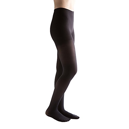 VenActive Women's Opaque 15-20 mmHg Closed Toe, Pantyhose Compression Tights