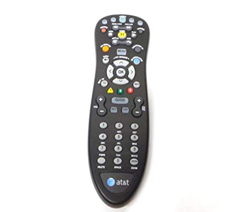 - Genuine AT&T U-Verse Uverse S10-S4 Standard IR Infrared Multifunctional Digital DVR TV Remote Control (Renewed)l