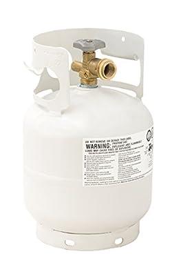 Flameking Portable Ready to Fill Empty LP Propane Gas Cylinder Tank