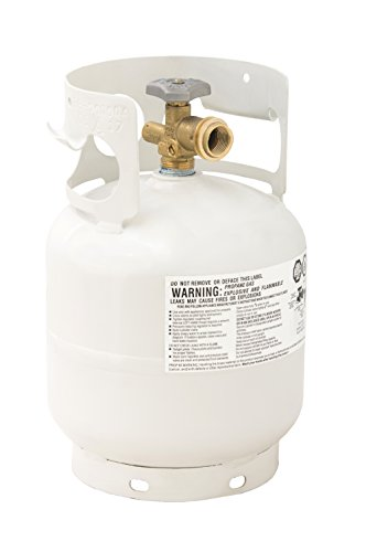 Flame King YSN5LB 5 Pound Propane Tank Cylinder, Great for Portable Grills, Fire Pits, Heaters and Overlanding