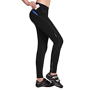 Well-Being-Matters 31J021Z75aL._SS300_ BALEAF Women's Cycling Tights 3D Padded Bike Leggings Long Compression Pants Reflective UPF50+