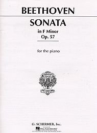 Appassionata Music Book - Beethoven Sonata in F Minor, Op. 57 (Appassionata) Piano Solo Piano Solo 40 Pages