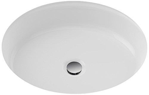 TOTO LT231#01 Atherton Oval Undercounter Lavatory, 17 x 14-Inch, Cotton White ()