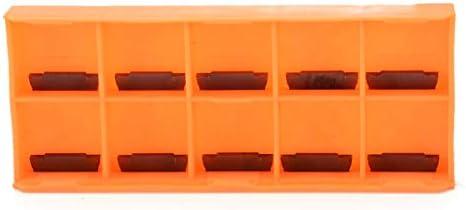 GENERICS LSB-Werkzeuge, Praktische CNC Drehmaschine Drehwerkzeug MGEHR1212-2 Trennwerkzeughalter 12 * 12 * 100mm Bohrstange + 10 stücke MGMN200-G Hartmetalleinsätze Klinge